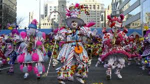 Mummers Parade their Intolerance Down Broad Street