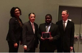CCP Student Receives Transportation Award for Eco-Friendly Car Vision