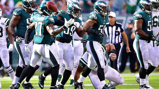 Philadelphia Eagles vs New York Giants