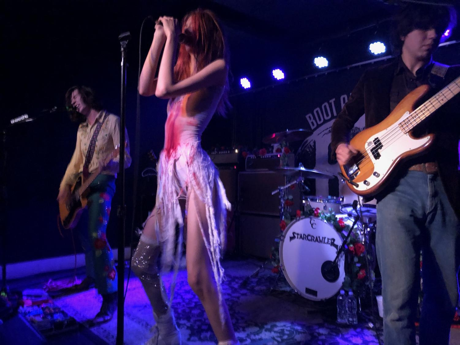 Starcrawler Stomps at Boot & Saddle