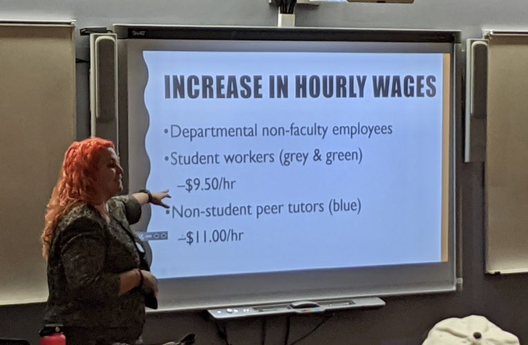 CCP Raises Student Worker Wages