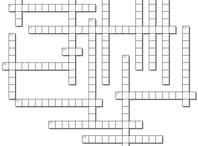 February Crossword Solution: Name That Black Figure!