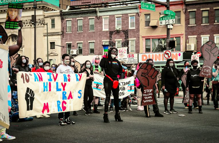 Activists Call for Systemic Changes During Philly Trans March